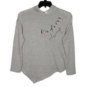 Self Esteem Kindness Always Hooded Sweatshirt Sz L